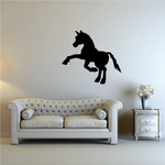 Standing Pony Silhouette Decal