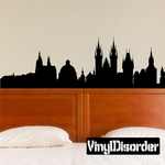 Praha Czech Republic Skyline Decal