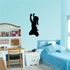 Hands in the Air Praying Girl Decal