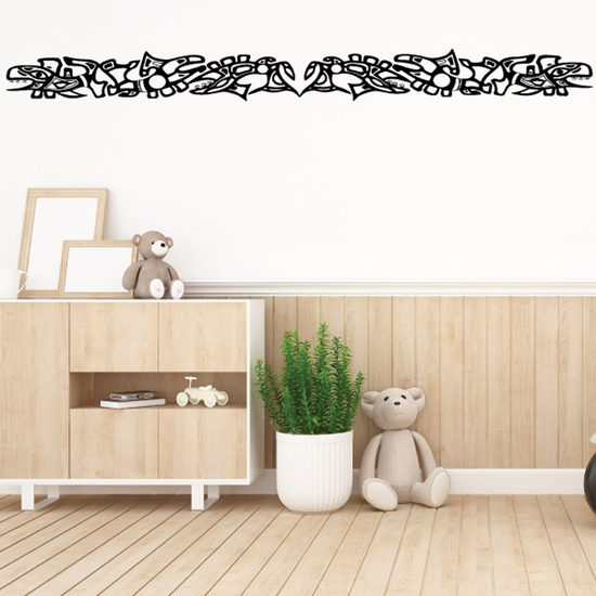 Fish Wall Decal - Vinyl Decal - Car Decal - DC543