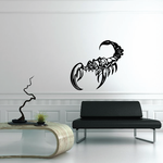 Curious Scorpion Decal