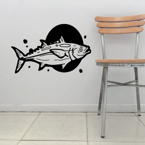 Tuna Wall Decal - Vinyl Decal - Car Decal - DC555