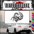 Pincers Up Scorpion Decal