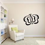 Butterfly Wall Decal - Vinyl Decal - Car Decal - MC012