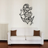 Goldfish and Anchor Decal