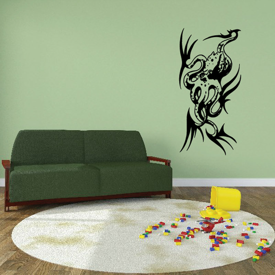 Intricate Octopus Decal