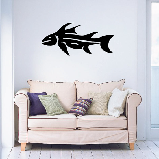 Fish Wall Decal - Vinyl Decal - Car Decal - DC581