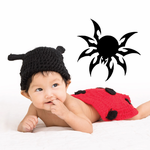 Rounded Spider Decal
