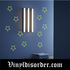 Glow in the Dark Stars Wall Decal - Vinyl Decal - Die Cut Decal - GDK1