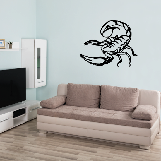 Lunging Scorpion Decal