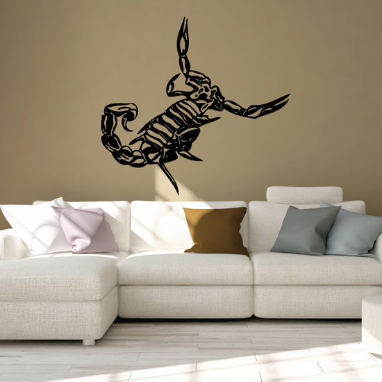 Fighting Stance Scorpion Decal