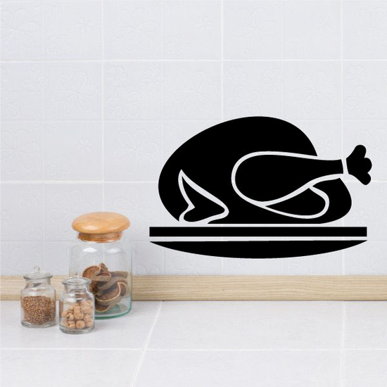 Cooked Turkey Decal