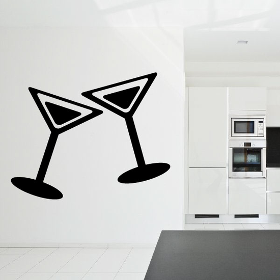 Martini Clink Decal