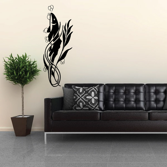 Fish Wall Decal - Vinyl Decal - Car Decal - DC595