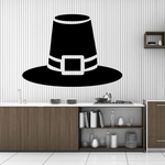 Pilgrim Hat Decal