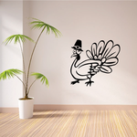 Goofy Turkey Decal