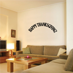 Arc Happy Thanksgiving Decal