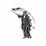 Casting Robed Wizard Decal