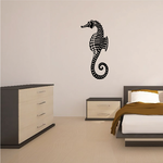 Classic Seahorse Decal
