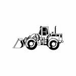 Front Loader Decal