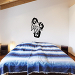 Tribal Fish Wall Decal - Vinyl Decal - Car Decal - DC629