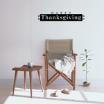 Happy Thanksgiving Rectangle Style Decal
