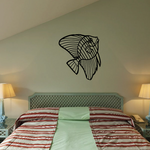 Fish Wall Decal - Vinyl Decal - Car Decal - DC632