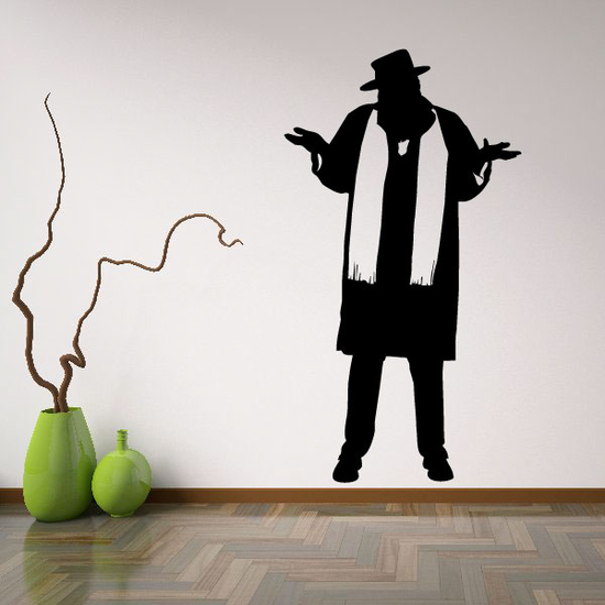 Hasidic Jew Rabbi Decal