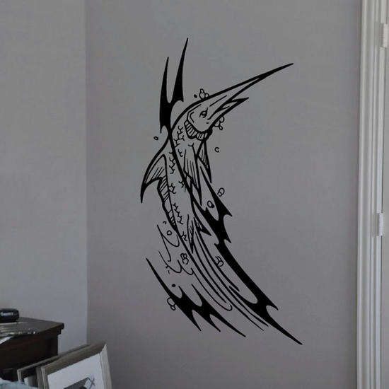 Tribal Fish Wall Decal - Vinyl Decal - Car Decal - DC652