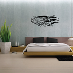 Tribal Fish Wall Decal - Vinyl Decal - Car Decal - DC653