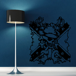 Skull Wall Decal - Vinyl Decal - Car Sticker - CD12057