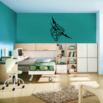 Tribal Fish Wall Decal - Vinyl Decal - Car Decal - DC657