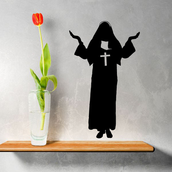 Religious Sister Decal