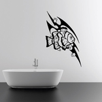 Tribal Fish Wall Decal - Vinyl Decal - Car Decal - DC662