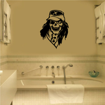Skull Wall Decal - Vinyl Decal - Car Decal - 028