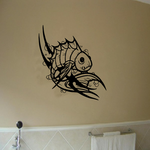 Tribal Fish Wall Decal - Vinyl Decal - Car Decal - DC671