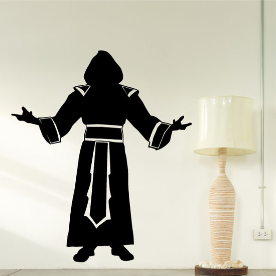 Cloaked Monk Decal