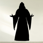 Cloaked Priest with open arms Decal