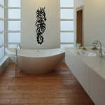 Grand Tribal Seahorse Decal