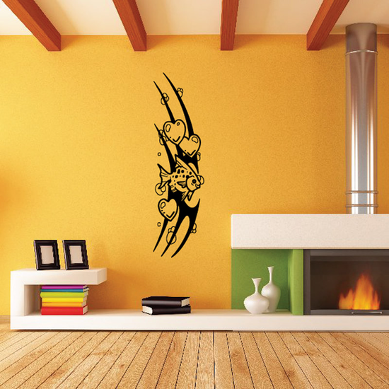 Tribal Fish Wall Decal - Vinyl Decal - Car Decal - DC682