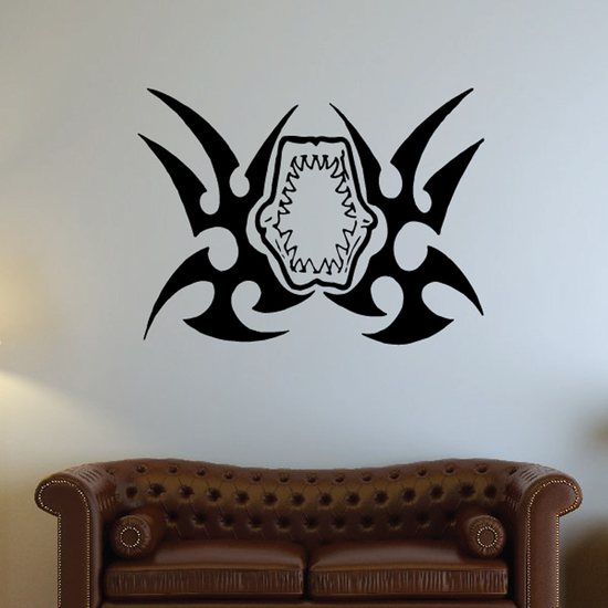 Tribal Fish Wall Decal - Vinyl Decal - Car Decal - DC684