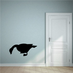 Goose Eating Decal