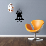 Thanksgiving Fancy Pilgrim Hat Decal