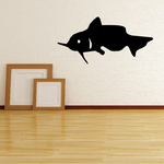 Skimming Catfish Decal