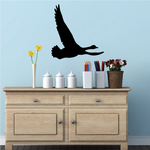 Goose Gliding Decal