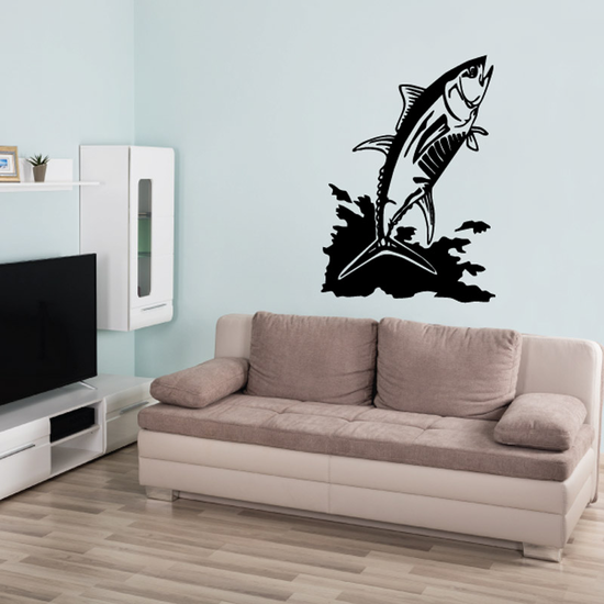 Tuna Wall Decal - Vinyl Decal - Car Decal - DC708
