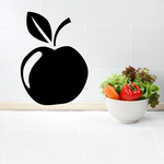 Thanksgiving Apple Wall Decal - Vinyl Decal - Car Decal - BA024