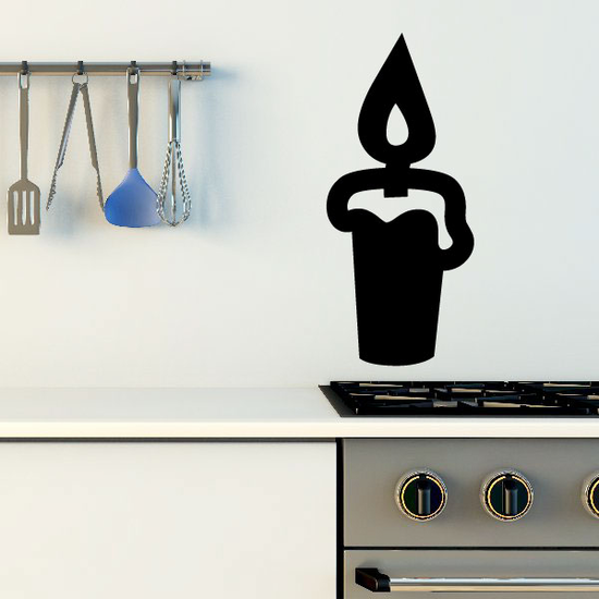 Melting Candle Decal