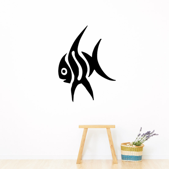 Tribal Fish Wall Decal - Vinyl Decal - Car Decal - DC731
