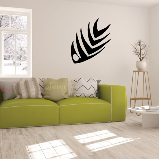 Tribal Fish Wall Decal - Vinyl Decal - Car Decal - DC733